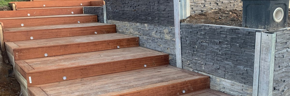 Carpentry Front Stairs